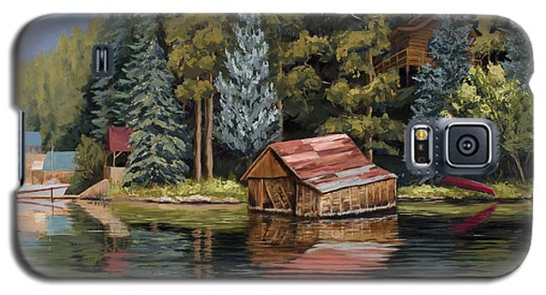 The Grand Boathouse II Galaxy S5 Case