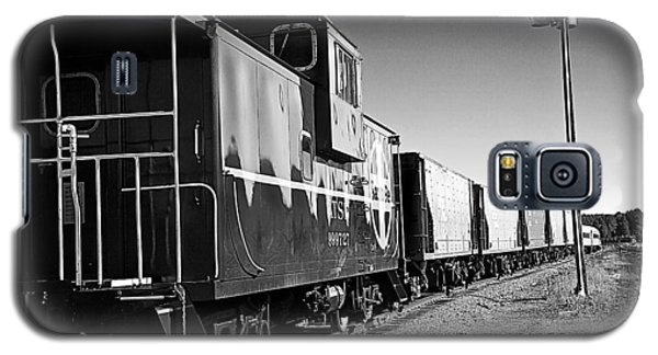 The Grand Canyon Express 2 Black And White Galaxy S5 Case