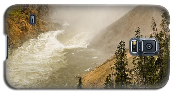 Galaxy S5 Case featuring the photograph The Grand Canyon Of Yellowstone by Yeates Photography