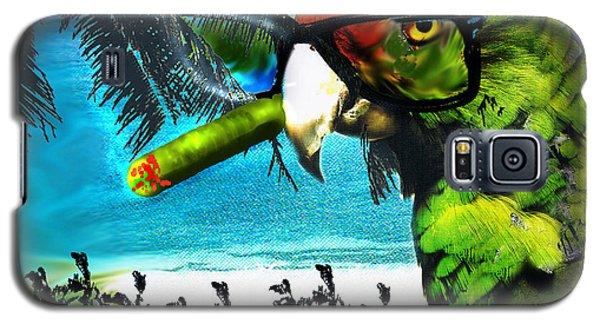 Galaxy S5 Case featuring the digital art The Great Bird Of Casablanca by Seth Weaver