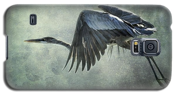 The Great Blue Heron  Galaxy S5 Case