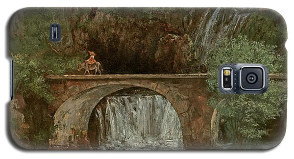 The Great Bridge, 1864 Galaxy S5 Case by Gustave Courbet