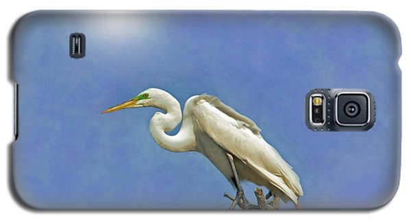 The Great Egret Galaxy S5 Case by Marion Johnson