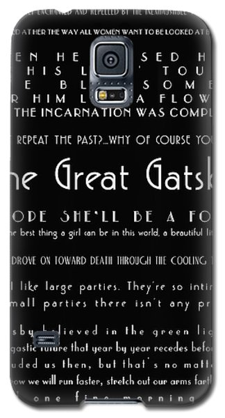 The Great Gatsby Quotes Galaxy S5 Case