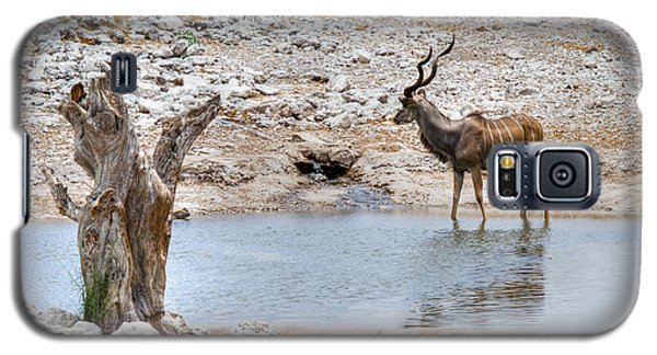 Galaxy S5 Case featuring the photograph The Great Kudu  by Juergen Klust
