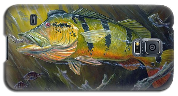 The Great Peacock Bass Galaxy S5 Case