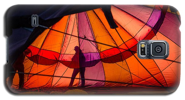 Galaxy S5 Case featuring the photograph The Great Reno Balloon Race 01 by Janis Knight