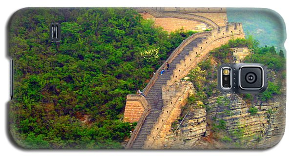 Galaxy S5 Case featuring the photograph The Great Wall 2 by Kay Gilley