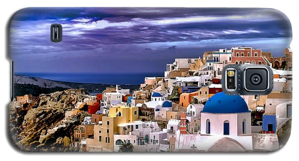 The Greek Isles Santorini Galaxy S5 Case by Tom Prendergast