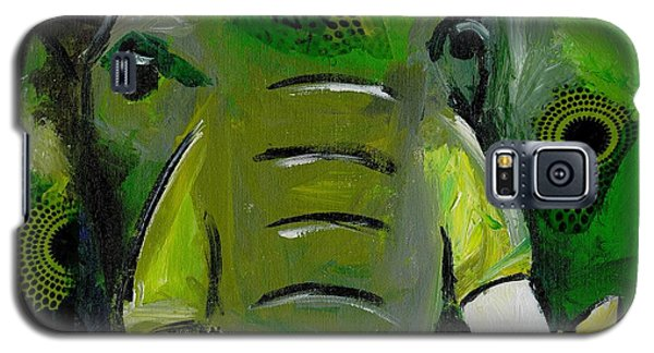 The Green Elephant In The Room Galaxy S5 Case