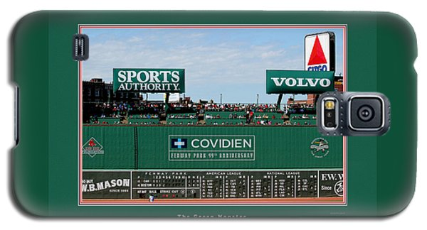 The Green Monster Fenway Park Galaxy S5 Case by Tom Prendergast