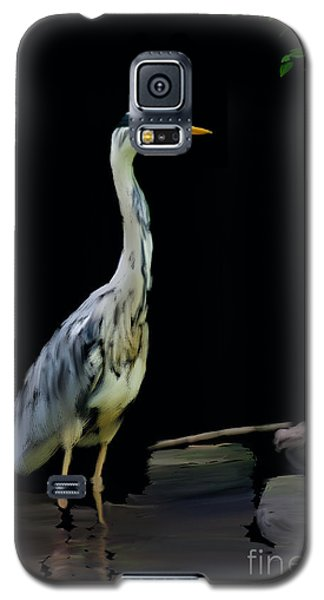 The Grey Heron Galaxy S5 Case