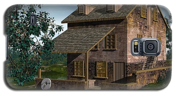 The Gristmill - Batsto N J Galaxy S5 Case by John Pangia