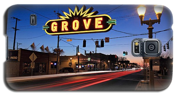 The Grove In Twilight Galaxy S5 Case