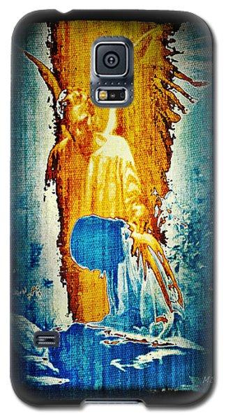 The Guardian Angel Galaxy S5 Case by Absinthe Art By Michelle LeAnn Scott