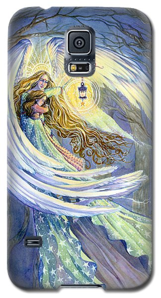 Religious Galaxy S5 Case - The Guardian by Sara Burrier