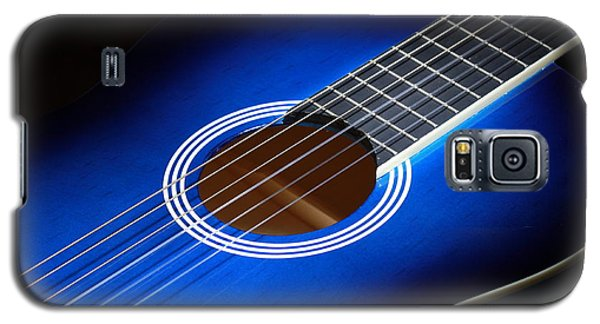 Galaxy S5 Case featuring the photograph The Guitar by Keith Hawley