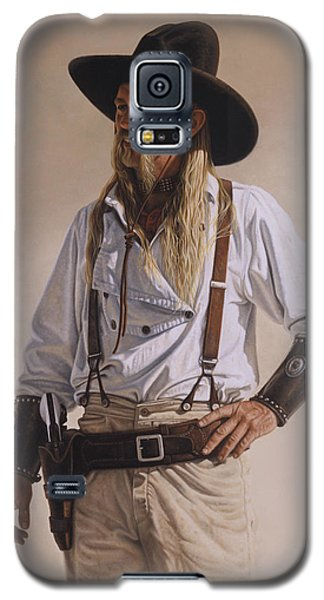 The Gunslinger Galaxy S5 Case by Ron Crabb