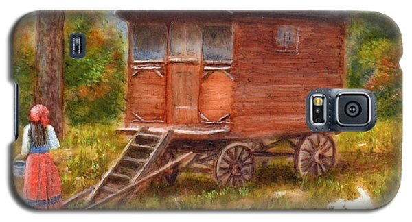 The Gypsy Caravan Galaxy S5 Case