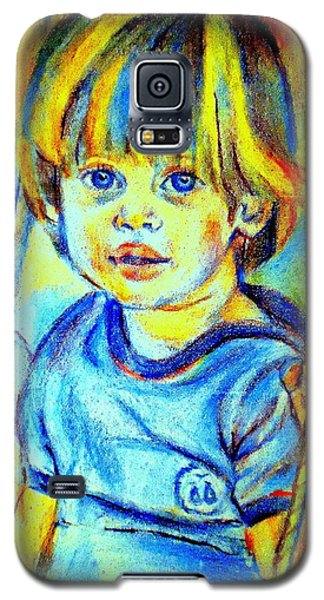 Galaxy S5 Case featuring the drawing The Hammock by Helena Wierzbicki