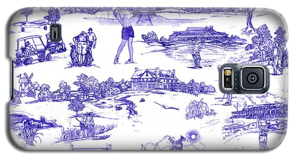 The Hamptons Historical Golf Courses Galaxy S5 Case by Kimberly McSparran