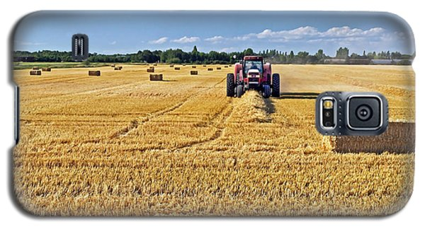 Galaxy S5 Case featuring the photograph The Harvest by Keith Armstrong