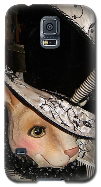 Galaxy S5 Case featuring the photograph The Hat by Jean Goodwin Brooks