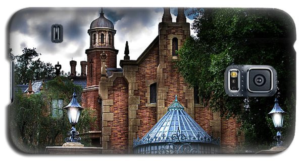 The Haunted Mansion Galaxy S5 Case by Mark Andrew Thomas