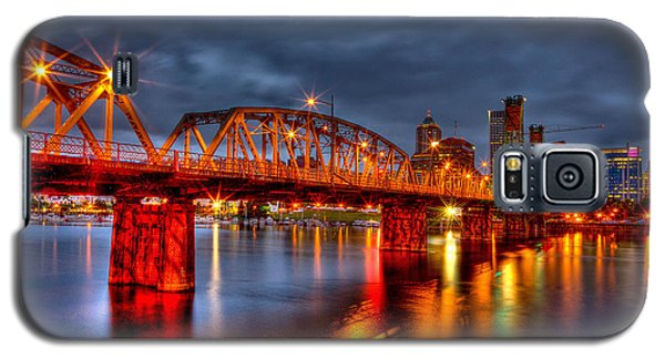 The Hawthorne Bridge - Pdx Galaxy S5 Case by Thom Zehrfeld