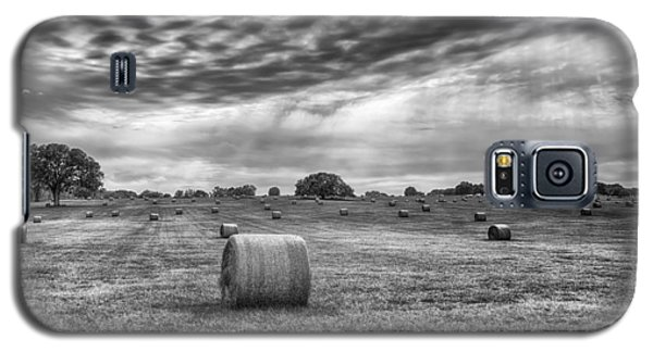 The Hay Bails Galaxy S5 Case by Howard Salmon