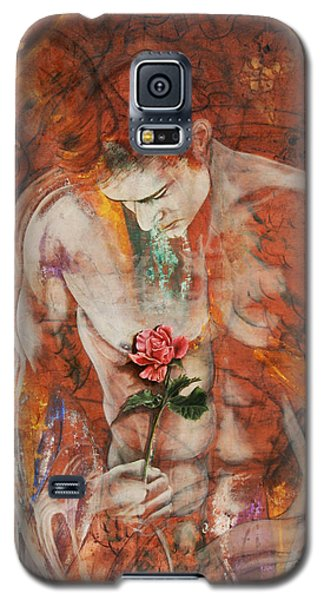 The Heart Finds Peace Through Love Galaxy S5 Case