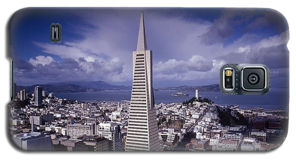 The Heart Of San Francisco Galaxy S5 Case by Mountain Dreams