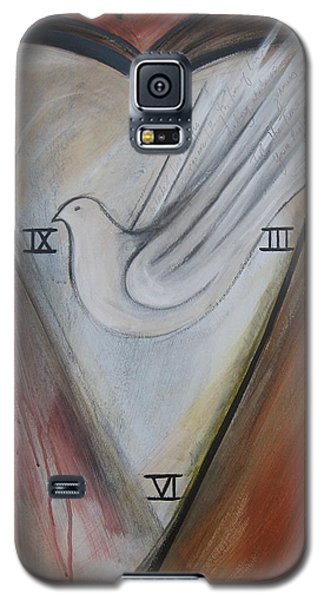 The Heart Of Time Galaxy S5 Case