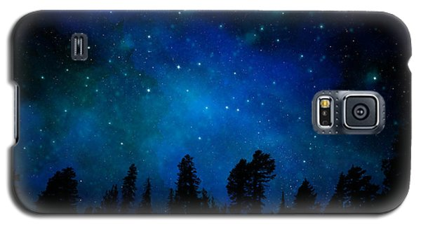 The Heavens Are Declaring Gods Glory Mural Galaxy S5 Case