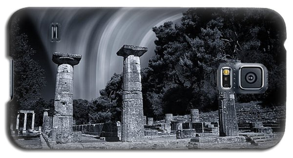 Galaxy S5 Case featuring the photograph The Heraion Of Ancient Olympia by Micah Goff