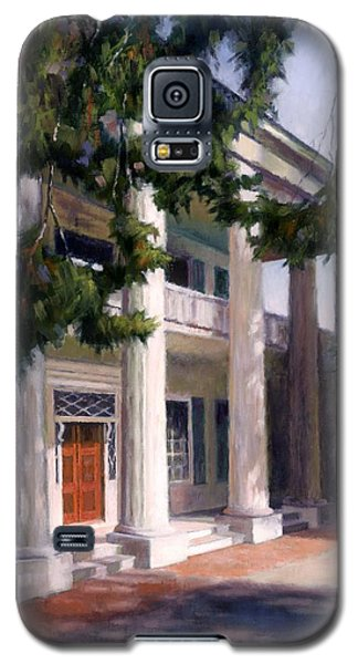 Galaxy S5 Case featuring the painting The Hermitage by Janet King