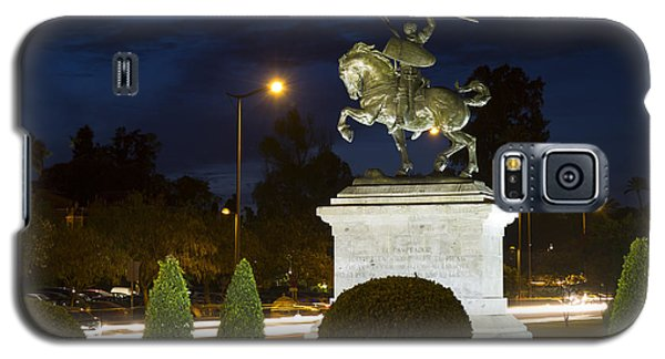 Galaxy S5 Case featuring the photograph The Hero Of Spain by Nathan Rupert