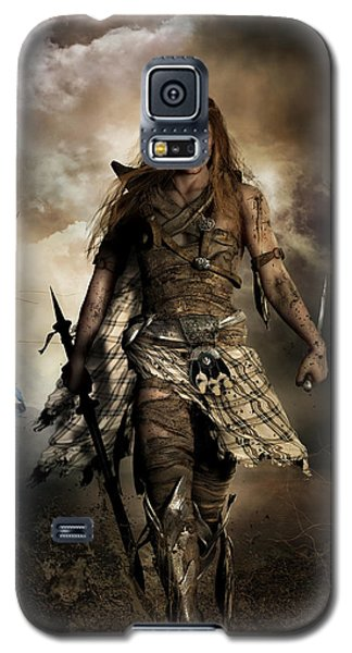 The Highlander Galaxy S5 Case by Shanina Conway