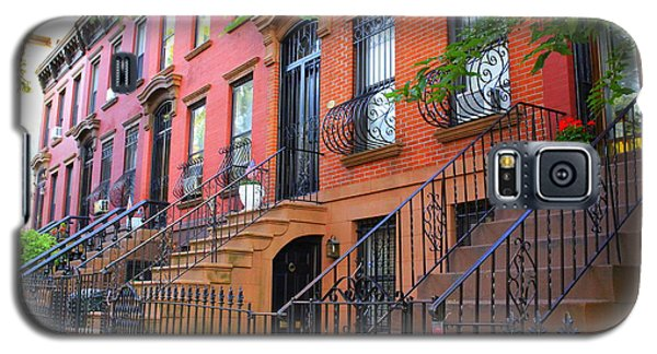 The Historic Brownstones Of Brooklyn Galaxy S5 Case