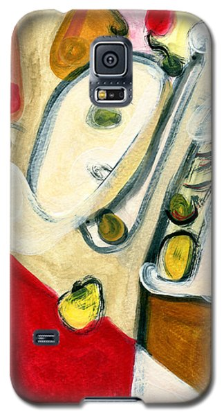 The Horn Player Galaxy S5 Case