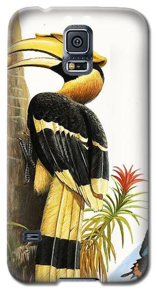 Toucan Galaxy S5 Case - The Hornbill by RB Davis