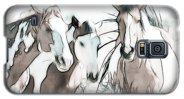 The Horse Club Galaxy S5 Case by Athena Mckinzie
