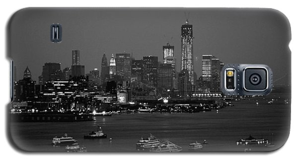 The Hudson And Freedom Tower Galaxy S5 Case by Living Color Photography Lorraine Lynch