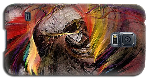 The Huntress-abstract Art Galaxy S5 Case