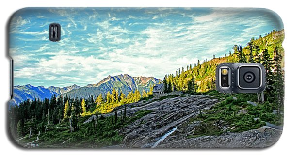 Galaxy S5 Case featuring the photograph The Hut. by Eti Reid