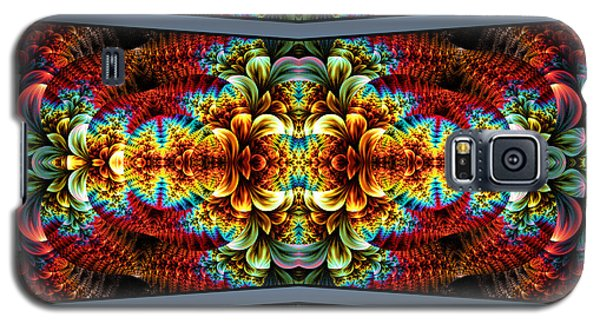 Galaxy S5 Case featuring the digital art The Illusion Of Depth by Lea Wiggins
