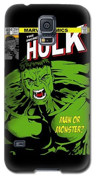 The Incredible Hulk Galaxy S5 Case