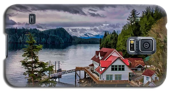 The Inlet Painitng Galaxy S5 Case by Timothy Latta