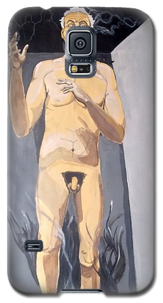 Galaxy S5 Case featuring the painting The Insanity And Its Madness Enajenacion Y Su Locura by Lazaro Hurtado