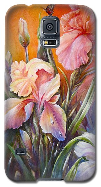 The Iris Of  Spring  Galaxy S5 Case by Patricia Schneider Mitchell